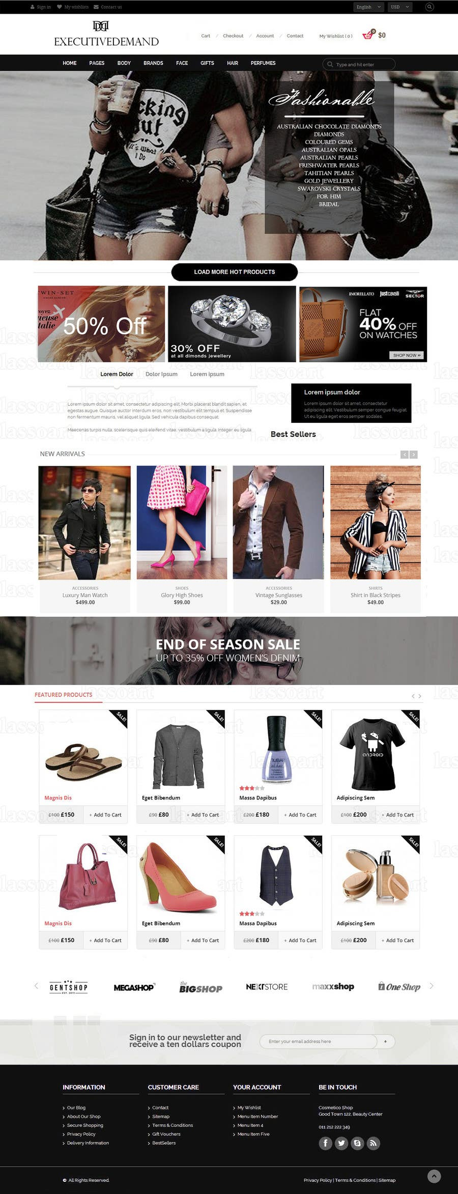Konkurrenceindlæg #                                        7                                      for                                         Build an Online Store for Luxury Retail