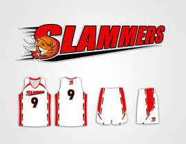 #77 para Design a Logo for Slammers Basketball Team por mykferrer