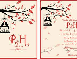 istykristanto tarafından Wedding Invitation design needed için no 2