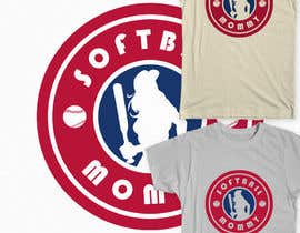 #13 para Design a T-Shirt for softball moms por Fayeds