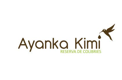 """Nro 4 kilpailuun Diseñar un logotipo para una reserva de Colibríes llamada """"Reserva de Colibríes Ayanka Kimi"""" käyttäjältä sayuheque"""
