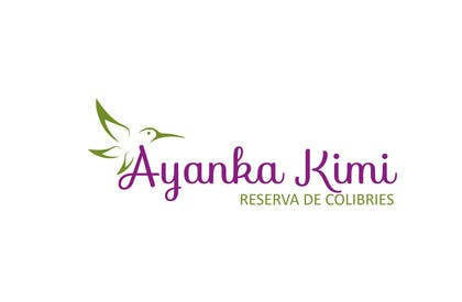 """Nro 11 kilpailuun Diseñar un logotipo para una reserva de Colibríes llamada """"Reserva de Colibríes Ayanka Kimi"""" käyttäjältä sayuheque"""