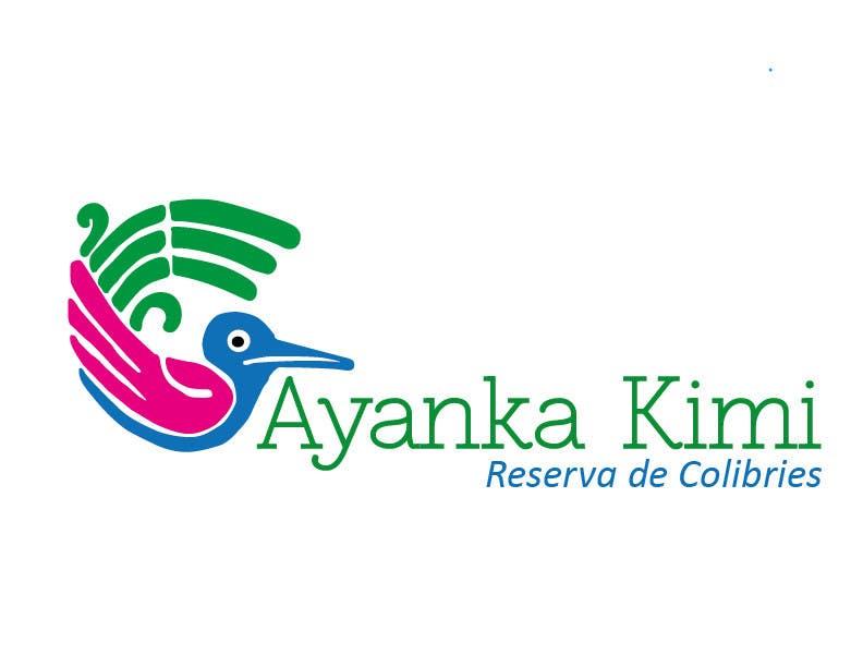 "Bài tham dự cuộc thi #44 cho Diseñar un logotipo para una reserva de Colibríes llamada ""Reserva de Colibríes Ayanka Kimi"""