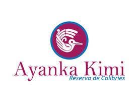 """Nro 45 kilpailuun Diseñar un logotipo para una reserva de Colibríes llamada """"Reserva de Colibríes Ayanka Kimi"""" käyttäjältä Ivanglez"""