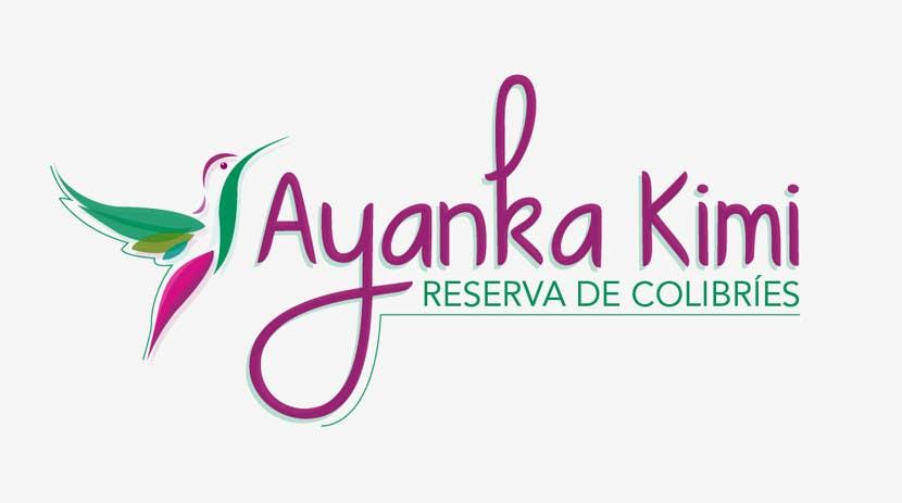 "Bài tham dự cuộc thi #6 cho Diseñar un logotipo para una reserva de Colibríes llamada ""Reserva de Colibríes Ayanka Kimi"""