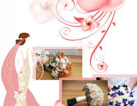 #7 para DL Colour Flyer Design for Wedding Florist por alidicera