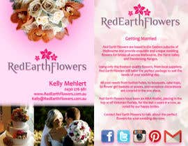#16 for DL Colour Flyer Design for Wedding Florist af LuchianTeodor