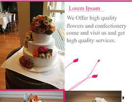 #13 for DL Colour Flyer Design for Wedding Florist af Fidelism