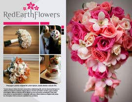 #14 para DL Colour Flyer Design for Wedding Florist por rogeriolmarcos