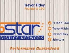 #16 untuk Design some Business Cards for 5 Star Logistics Network oleh designart65
