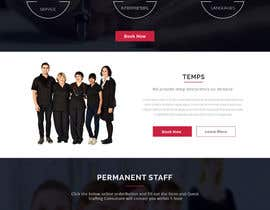 #26 untuk Design a Website Mockup for a Recruitment Company oleh webcafegraphics