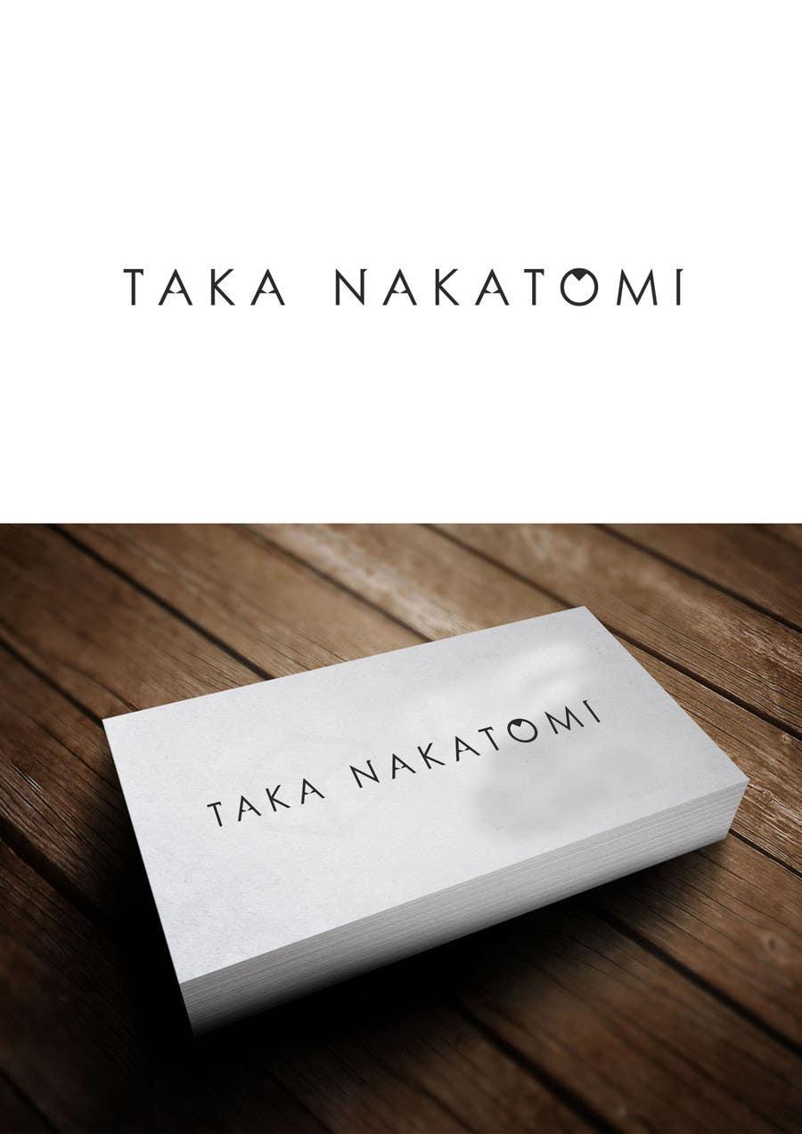 Inscrição nº 172 do Concurso para Design a Logo for Taka Nakatomi