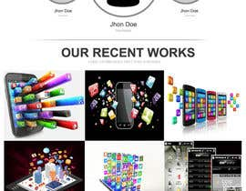 nilsoft123 tarafından Design a Website Mockup for CosCis IT Technology için no 12
