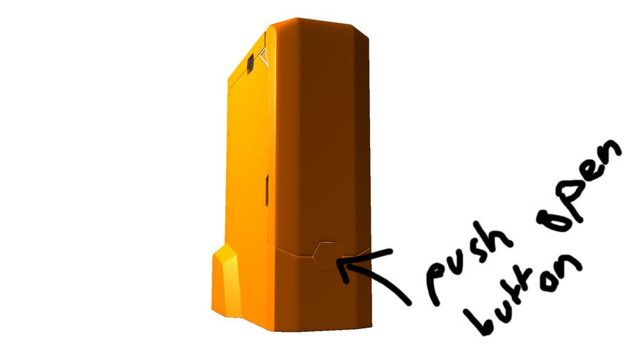 Konkurrenceindlæg #                                        11                                      for                                         Illustrator needed for the design of a futuristic 3D Printer