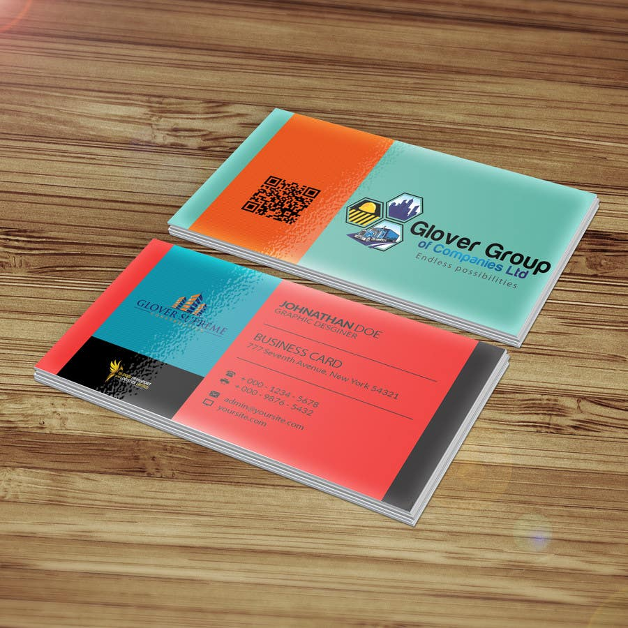 Entry #7 by DesignTechBD for Design some Business Cards for a ...