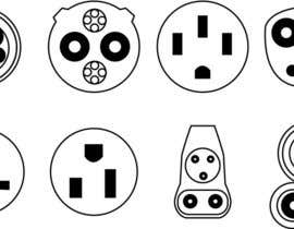 #5 for Design some Icons for Electrical Connectors af GhaithAlabid
