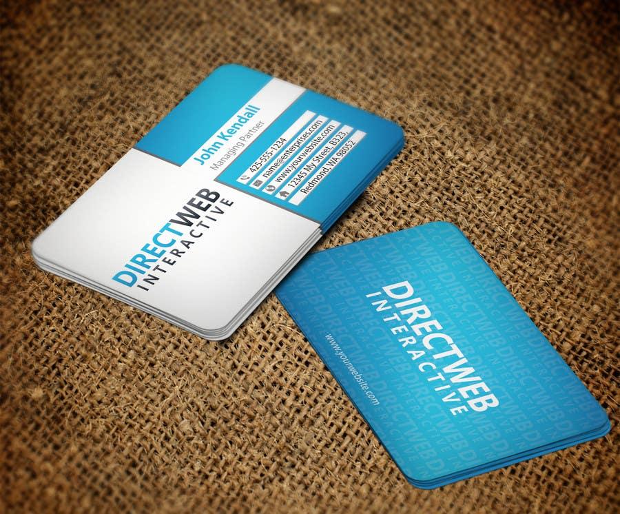 Konkurrenceindlæg #100 for Design Business Card For Marketing Agency