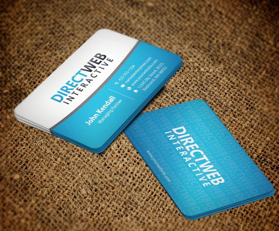 Konkurrenceindlæg #104 for Design Business Card For Marketing Agency