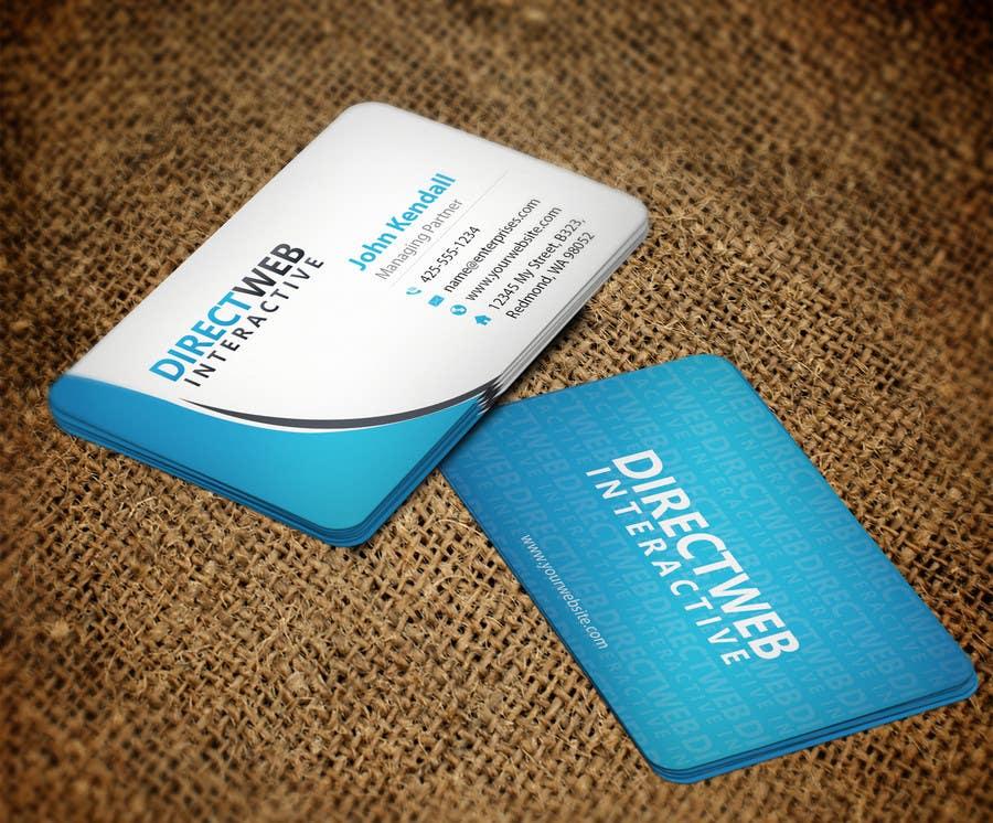 Konkurrenceindlæg #                                        105                                      for                                         Design Business Card For Marketing Agency