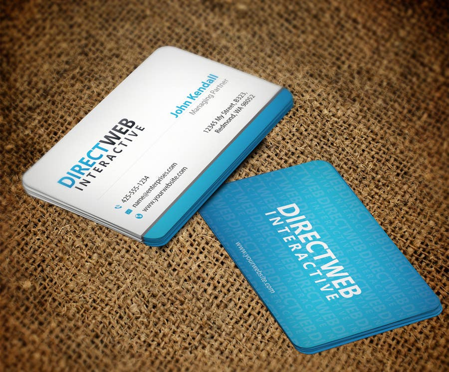 Konkurrenceindlæg #106 for Design Business Card For Marketing Agency