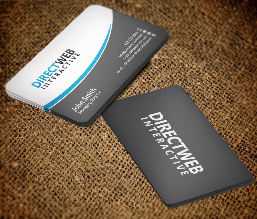 Konkurrenceindlæg #                                        49                                      for                                         Design Business Card For Marketing Agency