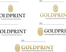 #22 for Design a Logo for GOLDPRINT af walkrs
