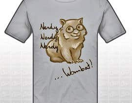 #3 for Design Wombat T-Shirt af AgneAl