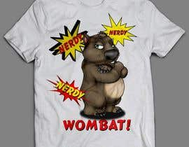 #5 for Design Wombat T-Shirt af sandrasreckovic