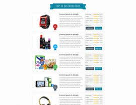 #11 para BEST HOMEPAGE DESIGNER - 15th Project por bellalbellal25