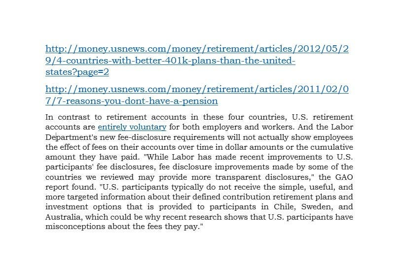 Konkurrenceindlæg #                                        1                                      for                                         Research on retirement planning in the United States, or the lack thereof