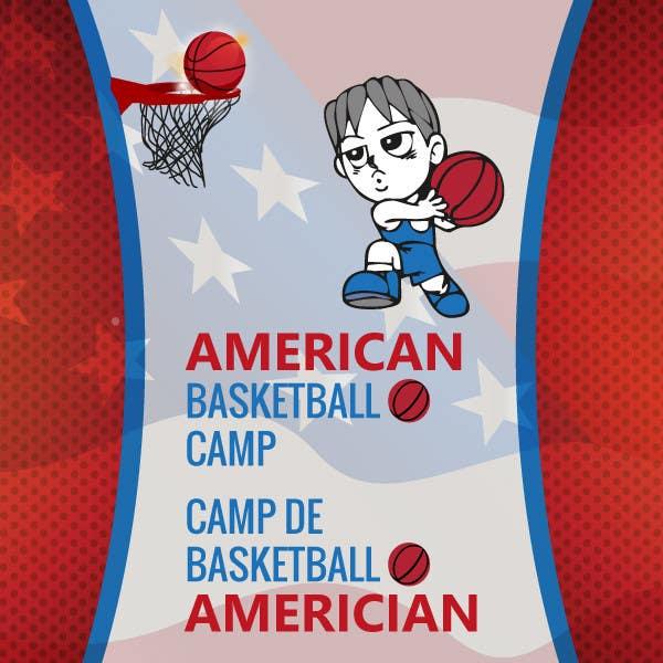 Penyertaan Peraduan #13 untuk Design a Logo for Basketball Camp in Paris, France