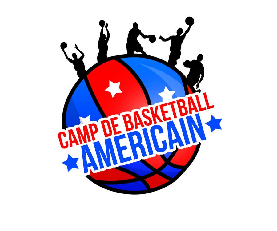 Penyertaan Peraduan #4 untuk Design a Logo for Basketball Camp in Paris, France