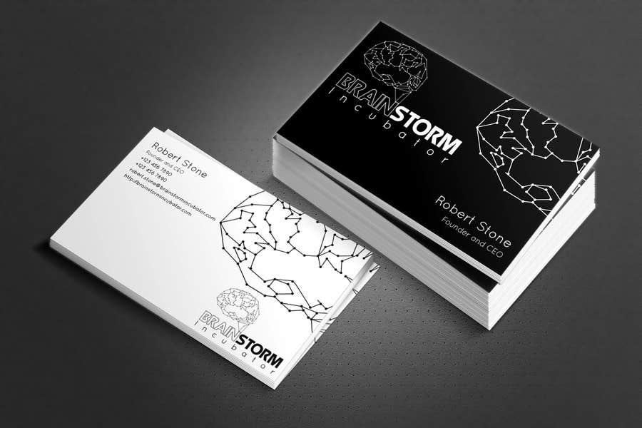 Konkurrenceindlæg #68 for Design some Business Cards for BrainStorm Incubator