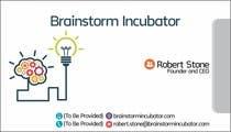 Design some Business Cards for BrainStorm Incubator için Graphic Design57 No.lu Yarışma Girdisi