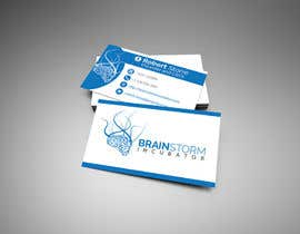 #62 para Design some Business Cards for BrainStorm Incubator por dexter000