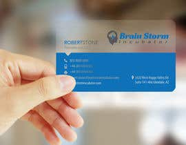 #37 para Design some Business Cards for BrainStorm Incubator por logosuit