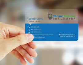 #76 para Design some Business Cards for BrainStorm Incubator por logosuit