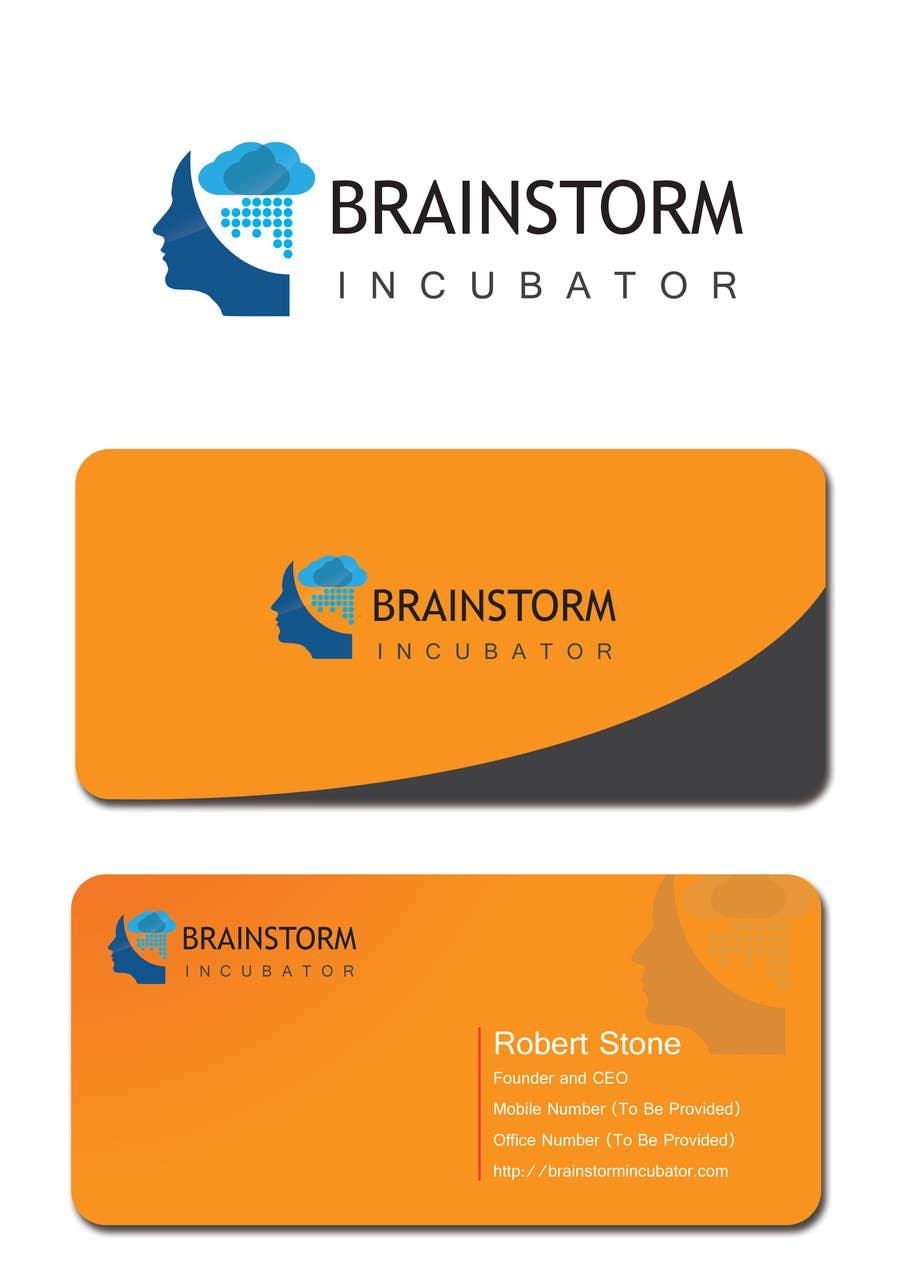 Inscrição nº 75 do Concurso para Design some Business Cards for BrainStorm Incubator