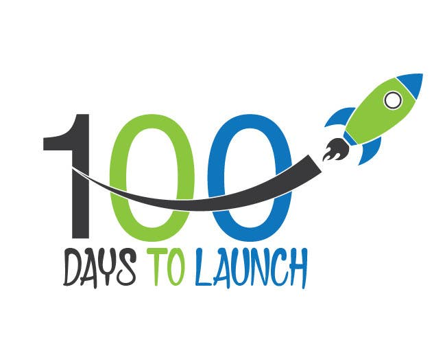 Konkurrenceindlæg #                                        17                                      for                                         Logo Design for 100 Days to Launch