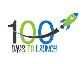 #17 para Logo Design for 100 Days to Launch por swethaparimi