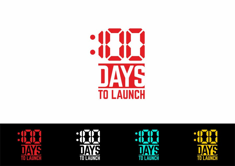 Proposition n°5 du concours Logo Design for 100 Days to Launch