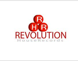 #136 for Design a Logo for Revolution House Records by Woow8