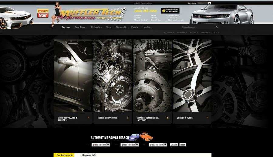 Entri Kontes #                                        5                                      untuk                                        Graphic Design for Muffler Tech