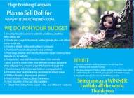 Marketing Inscrição do Concurso Nº18 para Dolls for charity