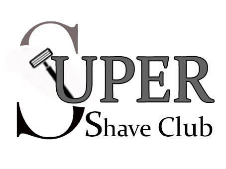 """Inscrição nº 13 do Concurso para Design a Logo for """"Super Shaver Club"""""""