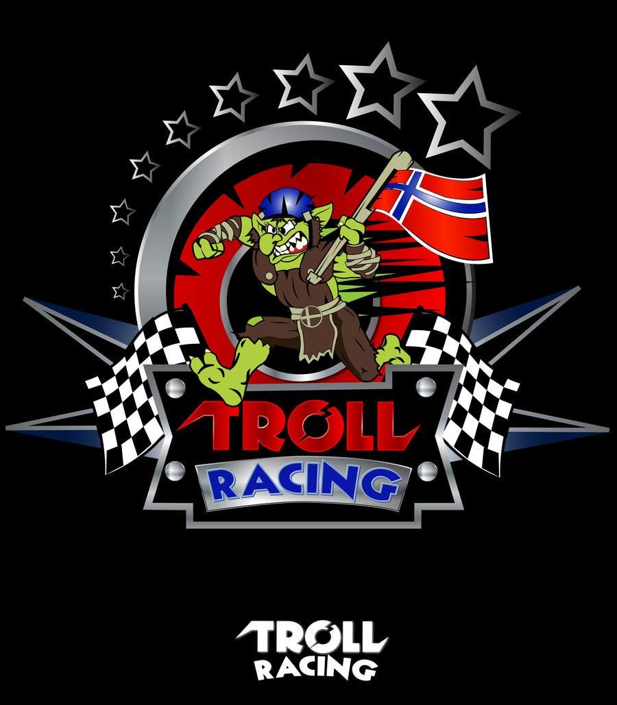 Bài tham dự cuộc thi #                                        171                                      cho                                         Troll Racing needs logo!