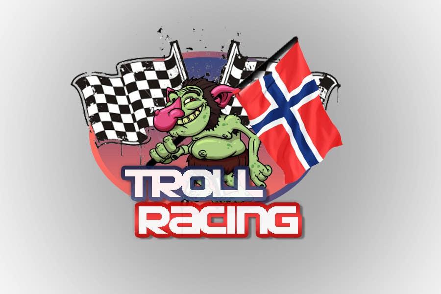 Bài tham dự cuộc thi #                                        100                                      cho                                         Troll Racing needs logo!