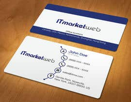 #67 untuk Design some Business Cards for IT Market oleh akhi1sl