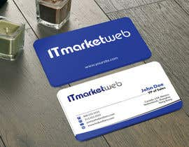 #38 untuk Design some Business Cards for IT Market oleh mamun313