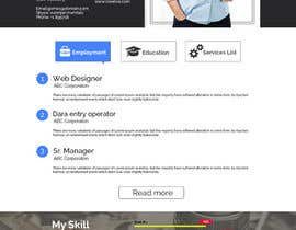 #5 cho Design a Mockup for Personal website bởi suranjan89
